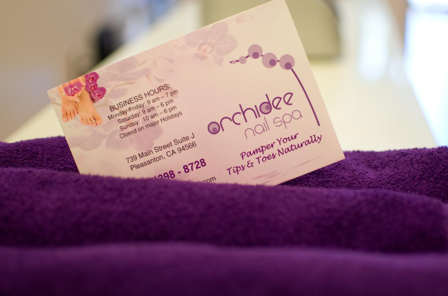 Orchidee Nail Spa Pleasanton